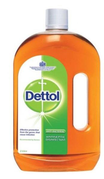 Dettol Anti-Bacterial Antiseptic Disinfectant 2L