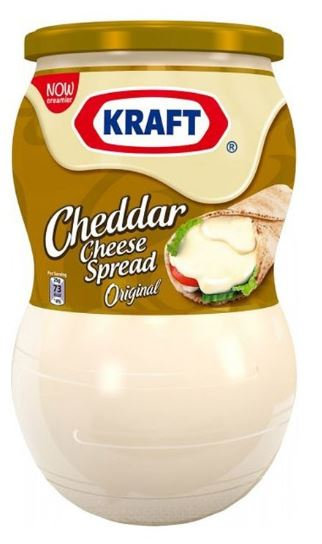 Kraft Cream Cheese Spread Jar 870g