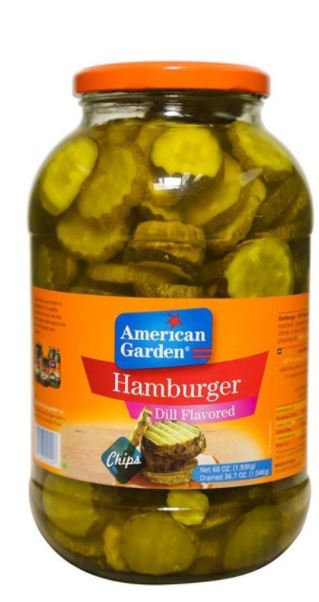 American Garden Hamburger Dill Chips 32oz