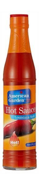 American Garden Hot Sauce 3oz