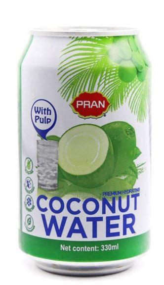 Pran Coconut Juice 330ml Pack of 24