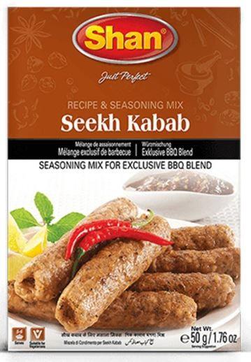 Shan Seekh Kabab Masala 50g