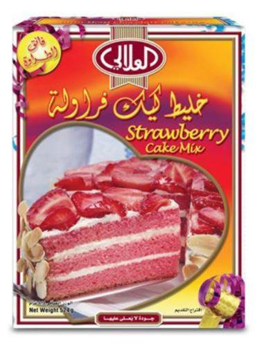 Al Alali Strawberry Cake Mix 524gram