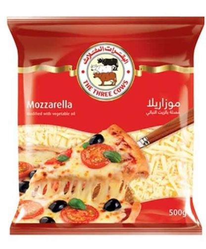 Three Cows Shredded Mozzarella Cheese 1kg