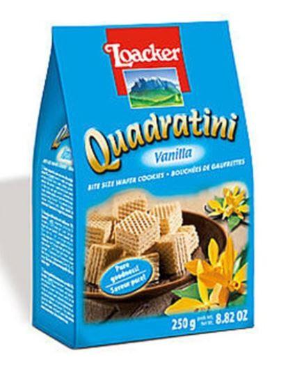 Loacker Quadratini Wafer Vanilla 125g