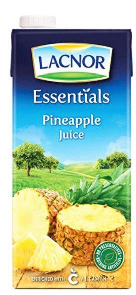 Lacnor Essentials Pineapple Juice 1L
