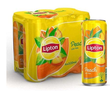 Lipton Peach Flavour Ice Tea 315ml Pack of 6