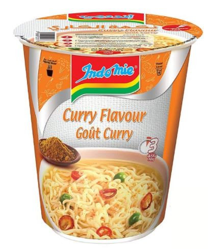 Indomie Gout Curry Flavour Cup Noodles 60g