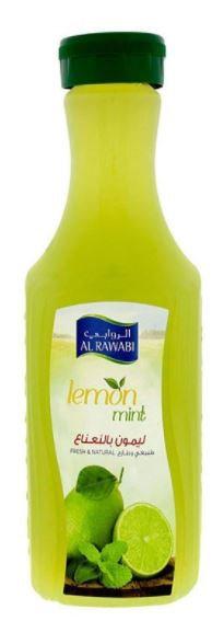 Al Rawabi Fresh & Natural Lemon Mint Juice 1L