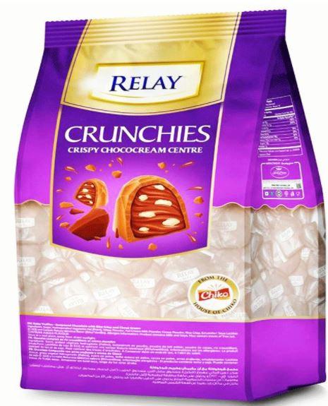 Relay Crunchies Crispy Choco Cream Centre 400g