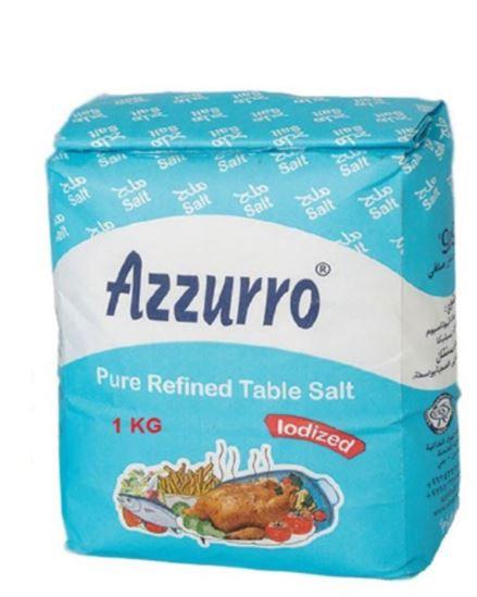 Azzurro Pure Refined Iodized Salt 1kg
