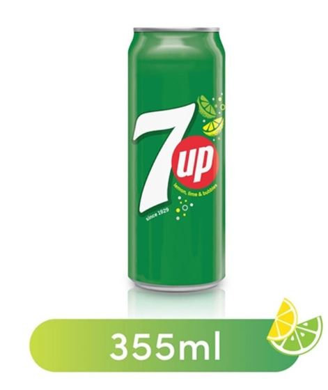 7UP Soft Drink Regular Can 355ml