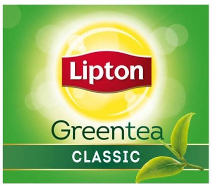Lipton Green Tea Classic 100 Tea Bags
