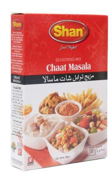 Shan Chat Masala Mix 100 gram