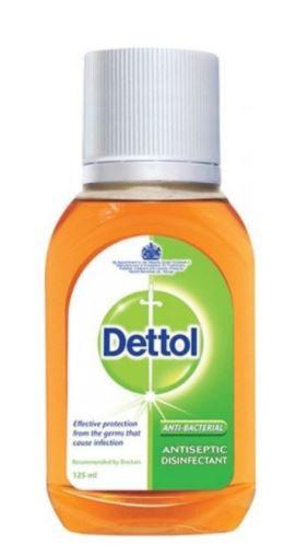 Dettol Antiseptic Disinfectant Liquid 125ml