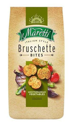 Maretti Bruschette Vegetable Bites 85g