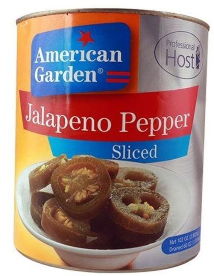American Garden Jalapeno Peppers Sliced 102oz