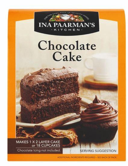 Ina Paarman s Chocolate Cake Mix 650g