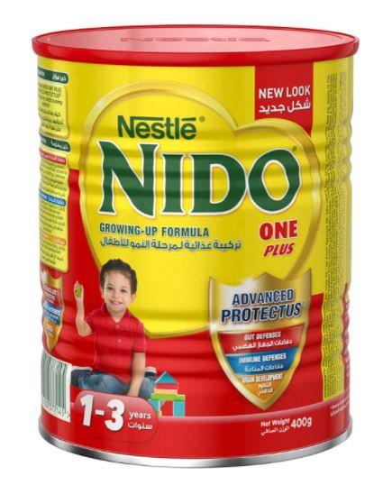 Nido One Plus DHA Milk Powder 1-3 400g