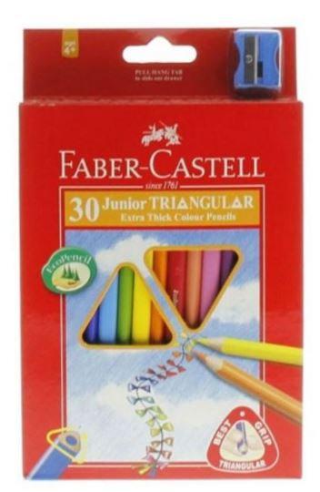 Faber Castell 30-Pieces Junior Triangular