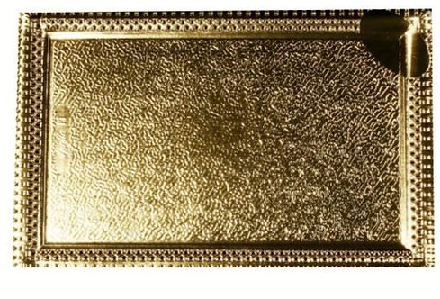Hotpack Rectangle Doilies Gold Coloured 35 x 25cm