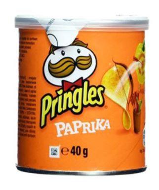 Pringles Parpika Chips 40g 1 Piece