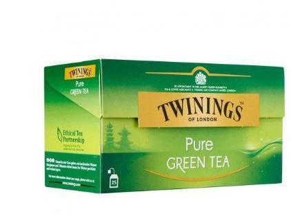 Twinings Green Tea Lemon 25 Tea Bags