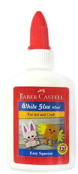 Faber-Castell Glue Bottle 40ml White