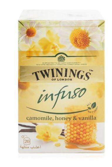 Twinings Infuso Camomile Honey And Vanilla (20)
