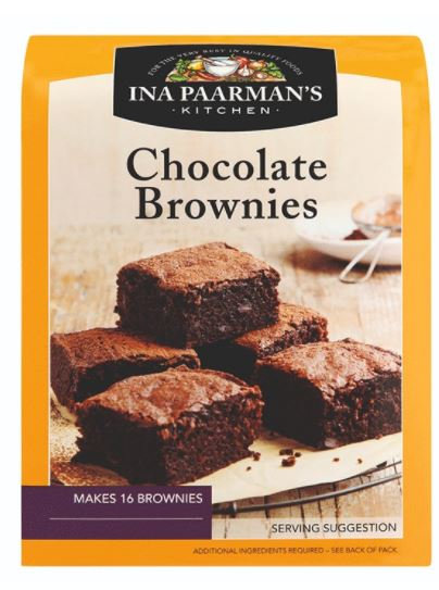 Ina Paarman Chocolate Brownie Bake Mix 550g