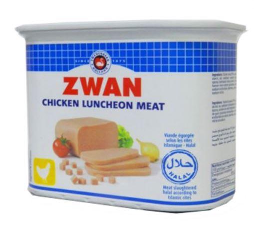 Zwan Luncheon Halal Meat Chicken 340g