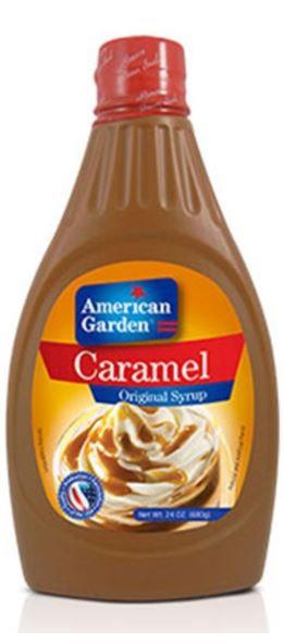 American Garden Caramel Syrup 680g
