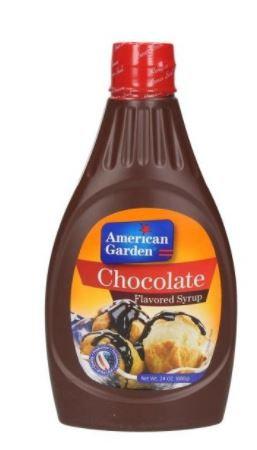 American Garden Chocolate Syrup 24oz