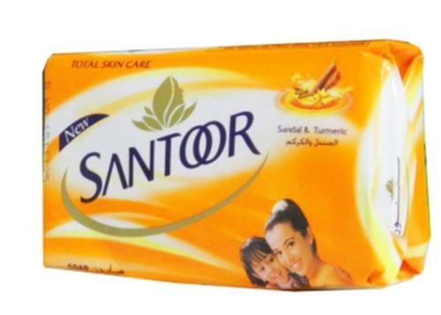 Santoor Sandal and Turmeric Bath Soap 125g