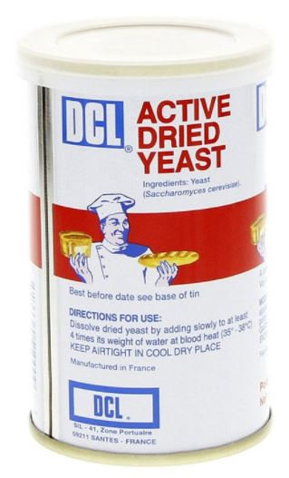 DCL Instant Dry Yeast Tin 125g