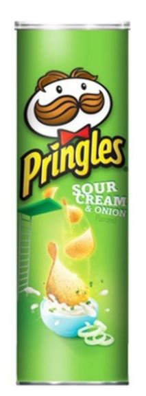 Pringles Sour Cream and Onion Chips 165gm