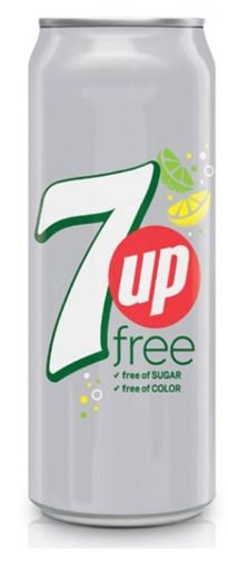 7UP Soft Drink Diet Can 355ml (Carton)