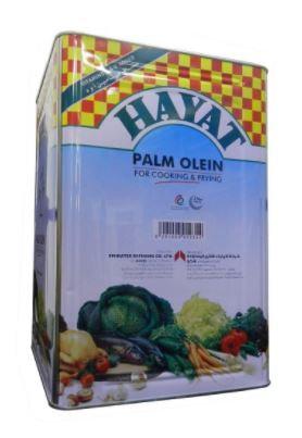 Hayat Vegetable Oil 18 Litre