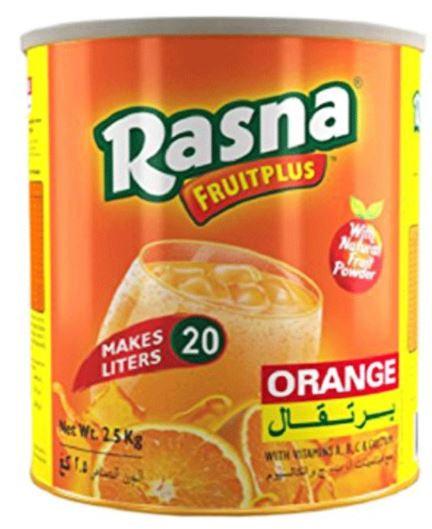 Rasna Instant Drink Powder Orange 2.5kg