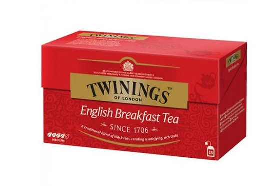 Twinings English Breakfast Tea 25 Tea Bags
