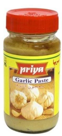 Priya Tasty Garlic Paste Bottle 300g