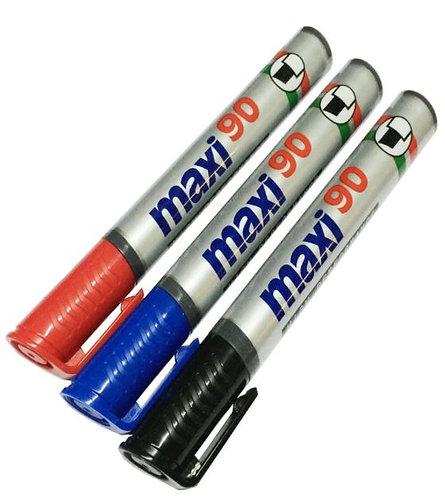 Maxi Permanent Marker 10 Pieces Per Pack