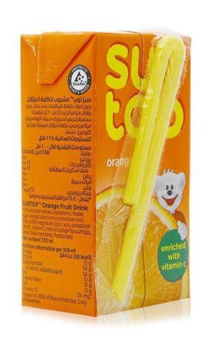 Suntop Orange Juice 125ml Pack of 24