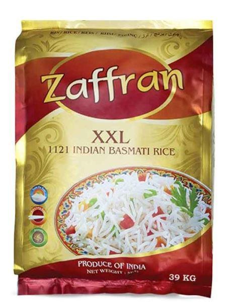 Zaffran 1121 Indian Basmati Rice 39kg