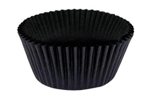 Falcon Cake Cup Glassine 9.5cm Black