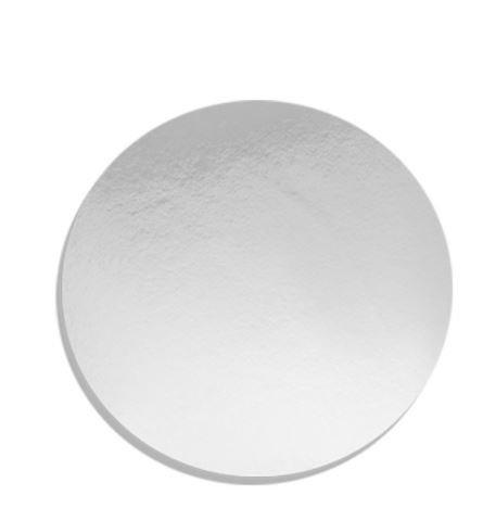 Falcon Cake Board Round Silver 8