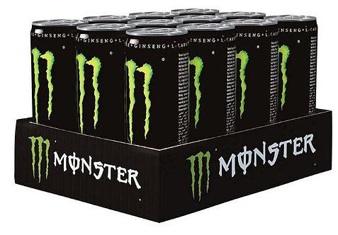 Monster Green Energy Drink 250ml Pack of 12