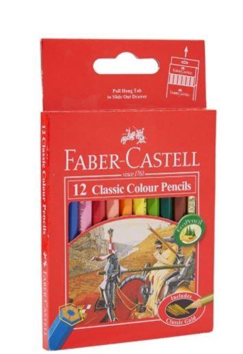 Faber Castell 12-Piece Classic Colour Pencils