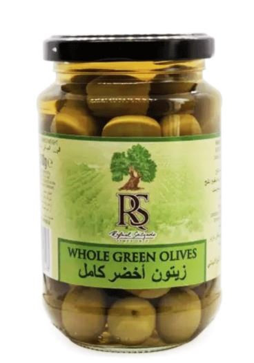 RS Olives Green Whole 200g Jar