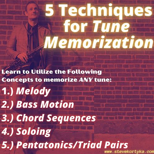5 Techniques for Improvisation LIVE